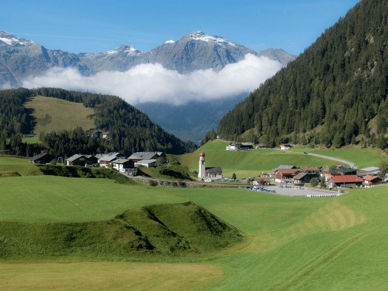 Österreich Hundewandern in den Ötztaler Alpen