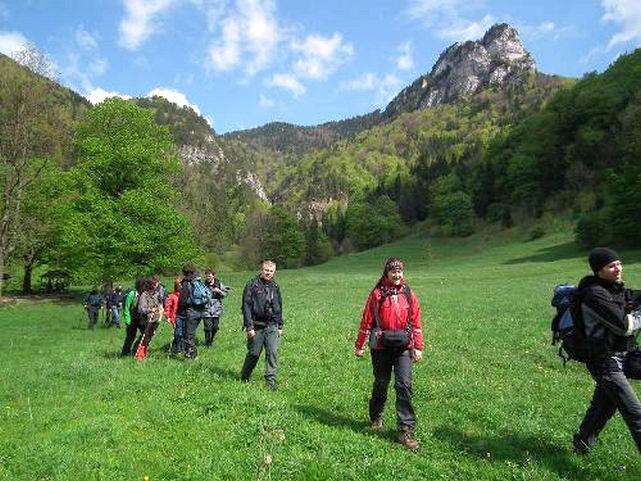 SlowakeiHundewandern in der Slowakei